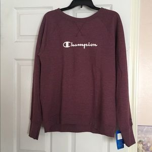 Cute Oversized Champion Sweatshirt